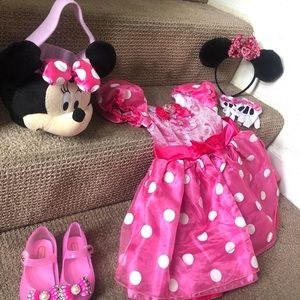 Minnie Mouse Costume Size 3.